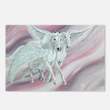 pair of pegasi Postcards (Package of 8)