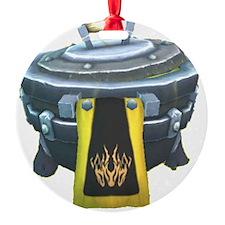 Guild Cauldron Round Ornament