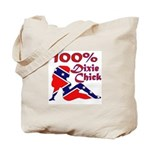 100% Dixie Chick Tote Bag