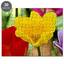 Yellow Tulip Puzzle
