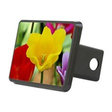 Yellow Tulip Hitch Cover