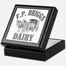 fp briggs dairy Keepsake Box