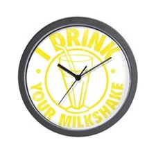 drinkMilksh2C Wall Clock