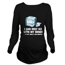 iCeMeltMind1C Long Sleeve Maternity T-Shirt