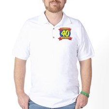 Happy 40th Birthday Balloon T-Shirt