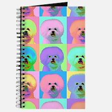 Op Art Bichon Journal