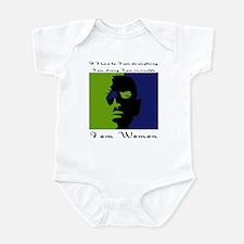 I Am Woman Infant Creeper