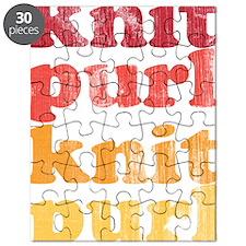 Knit Purl Retro Puzzle