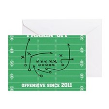 Offensive Logo Greeting Card