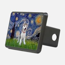 Starry-Siberian pup Hitch Cover