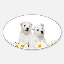 Westie Puppies Decal
