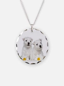 Westie Puppies Necklace