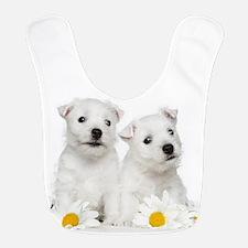 Westie Puppies Bib