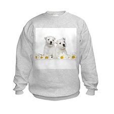 Westie Puppies Sweatshirt