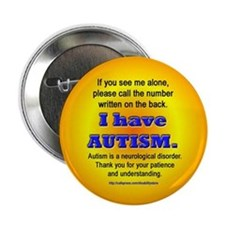 """Autism Safety Info"" Button"