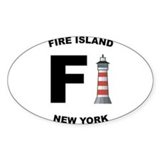 Fire-Island-lighthouse-clear Decal