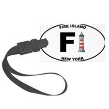 Fire-Island-lighthouse-clear Luggage Tag
