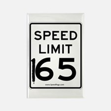 Speed Limit 165 Rectangle Magnet
