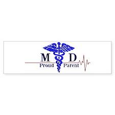 Proud Parent Of A Medical Doctor Bumper Bumper Sticker
