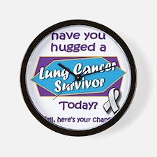 Hug a Survivor! Wall Clock
