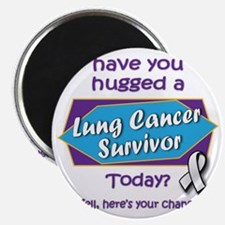Hug a Survivor! Magnet