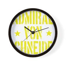 Admiral von Schneider Wall Clock