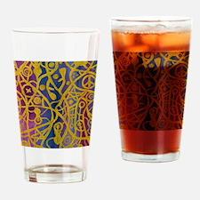 Goddess Spiderweb Painting Drinking Glass