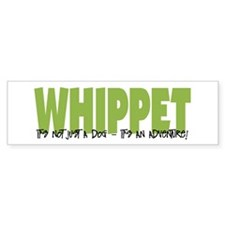 Whippet ADVENTURE Bumper Bumper Sticker