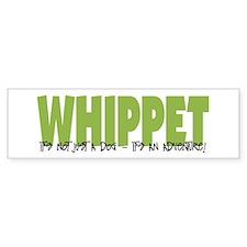 Whippet ADVENTURE Bumper Car Sticker