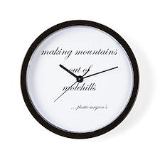 plastic  surgeon Wall Clock