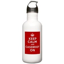 Keep Calm And Casebrie Water Bottle
