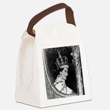 Oldskool Queen Elizabeth Canvas Lunch Bag