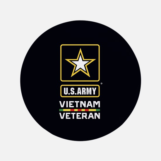 "U.S. Army Vietnam Veteran 3.5"" Button"