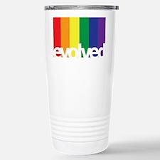 Evolved LGBT Stainless Steel Travel Mug