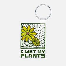 I Wet My Plants Keychains