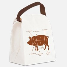 Delicious Pig Parts! Canvas Lunch Bag