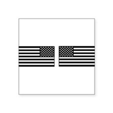 black and clear IR flag right and left Sticker