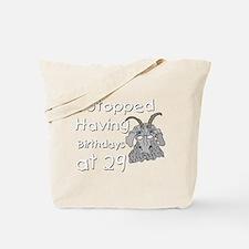 Goat Birthday 29 Tote Bag