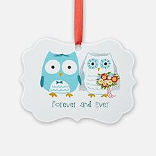 owlsforeverwht Ornament
