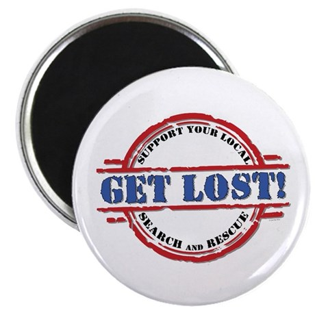 Get Lost: Search & Rescue Magnet