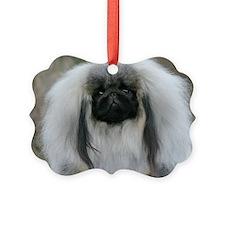 Pekingese 9Y111D-017 Picture Ornament