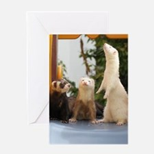 Adorable Trio Greeting Card
