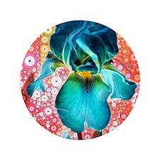 "Berry Iris 3.5"" Button"