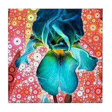 Berry Iris Tile Coaster