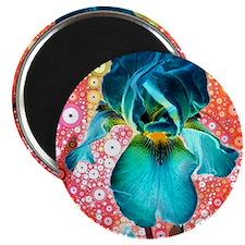 Berry Iris Magnet