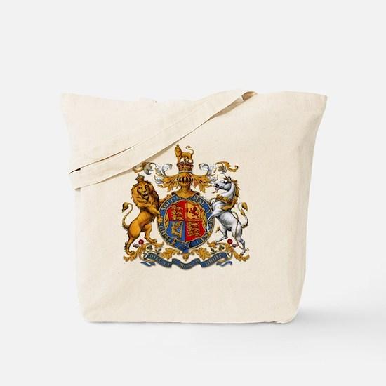 United Kingdom Coat of Arms Heraldry Tote Bag