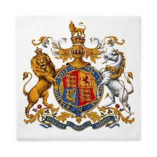 United Kingdom Coat of Arms Heraldry Queen Duvet