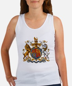 United Kingdom Coat of Arms Heral Women's Tank Top