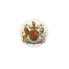 United Kingdom Coat of Arms Heraldry Mini Button