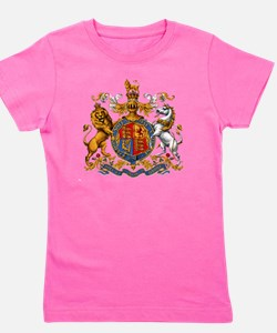 United Kingdom Coat of Arms Heraldry Girl's Tee